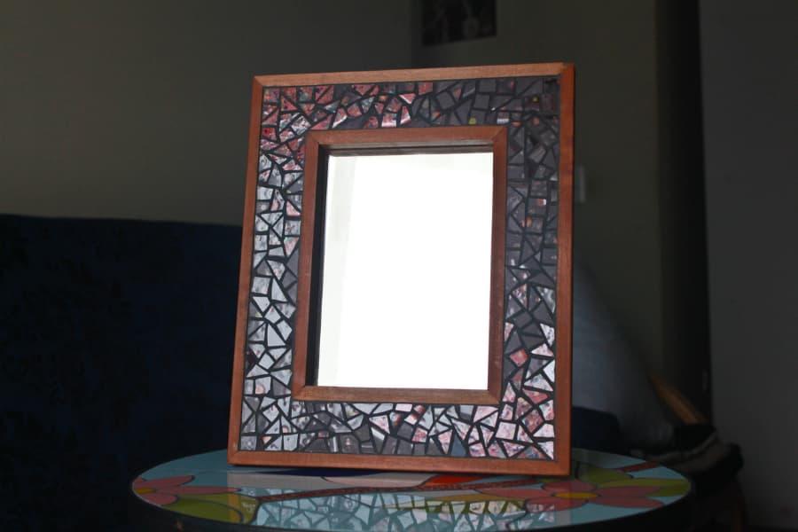 madera nativa mosaico