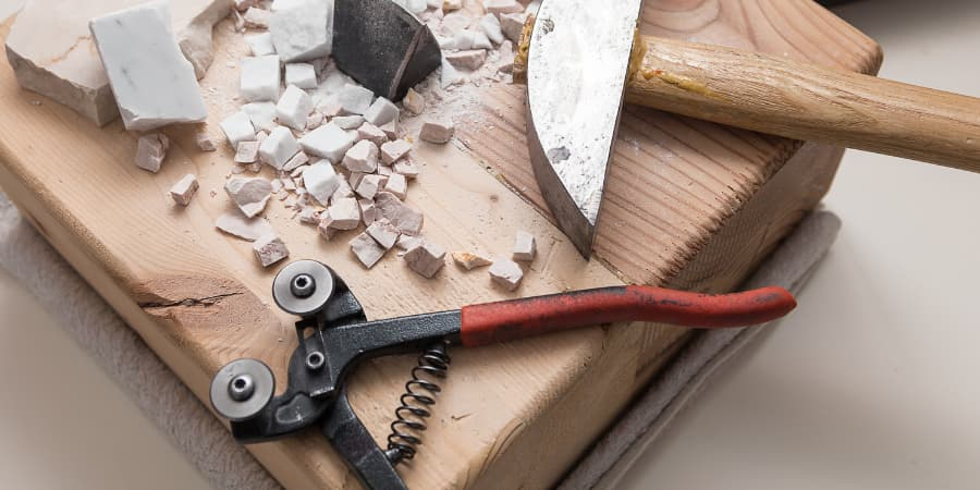 herramientas para mosaico