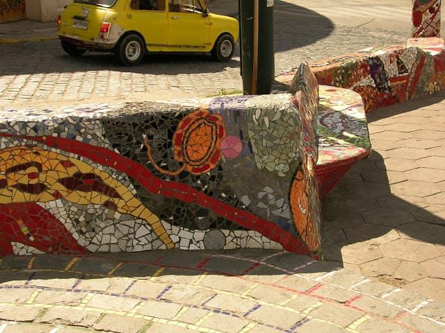 mosaico al aire libre