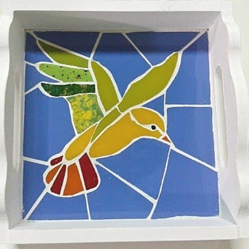 Frague blanco para muchos colores en el mosaico